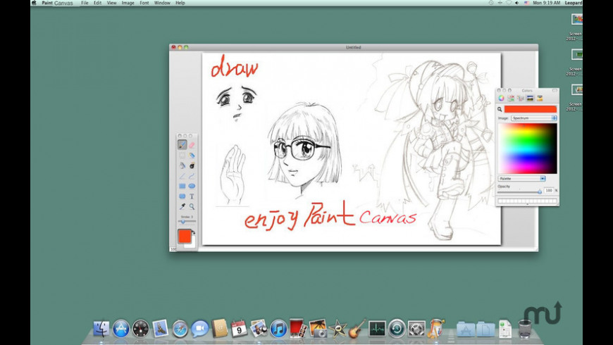 Paint Canvas for Mac - review, screenshots