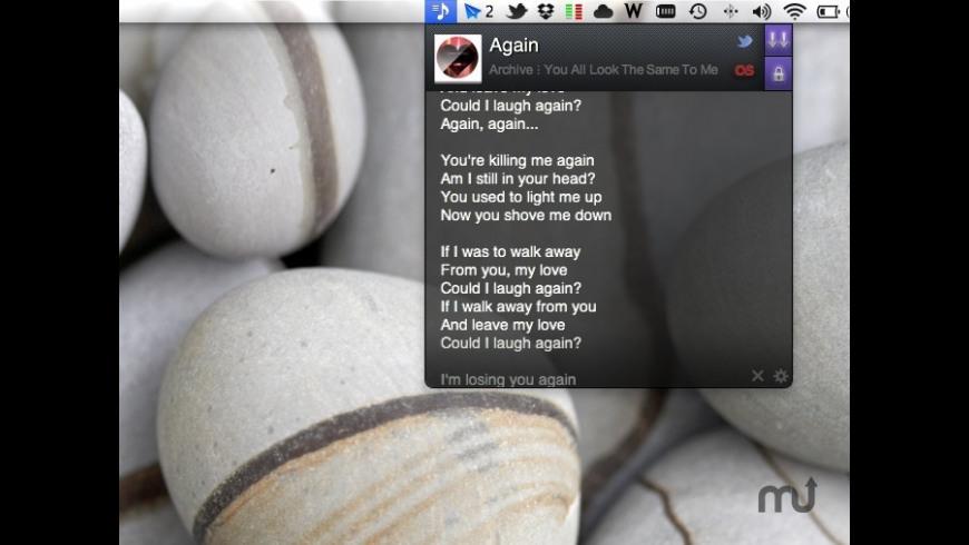 LyricsTab for Mac - review, screenshots
