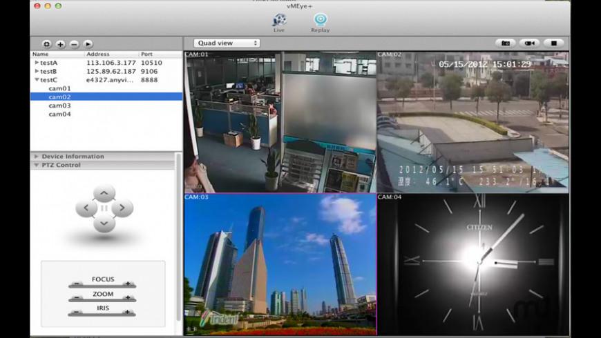 vMEye+ for Mac - review, screenshots