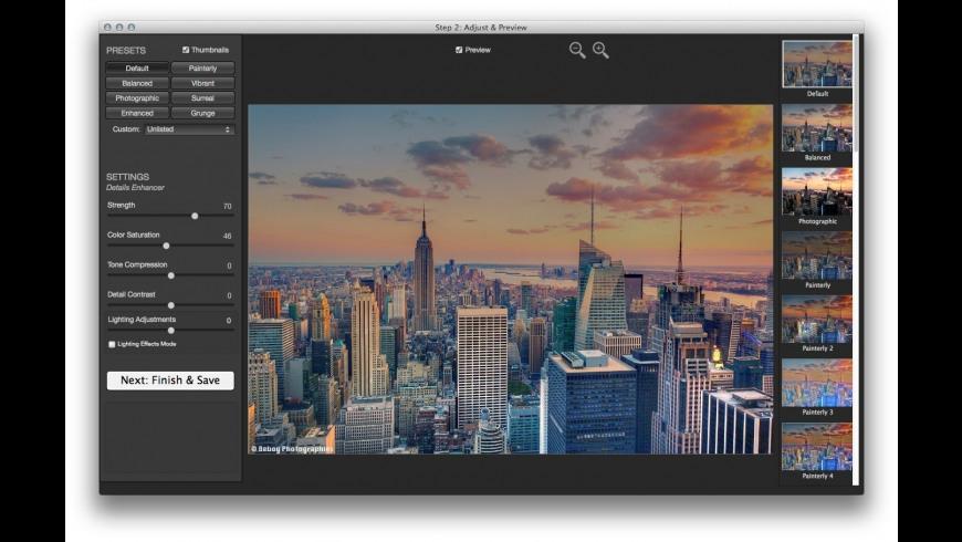 Photomatix Essentials for Mac - review, screenshots