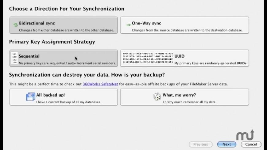 MirrorSync for Mac - review, screenshots
