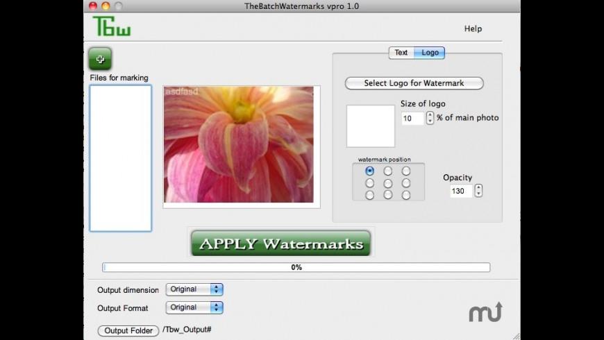 TBW Pro for Mac - review, screenshots