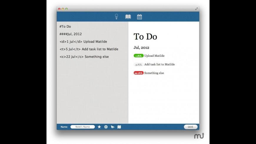 Matilde for Mac - review, screenshots