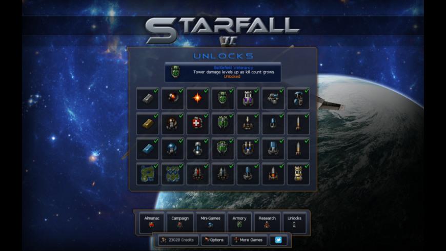 Starfall 2 for Mac - review, screenshots