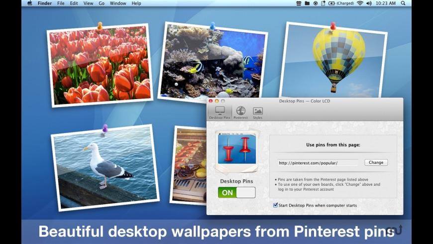 Desktop Pins for Mac - review, screenshots