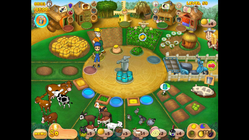 Farm Mania 2 for Mac - review, screenshots