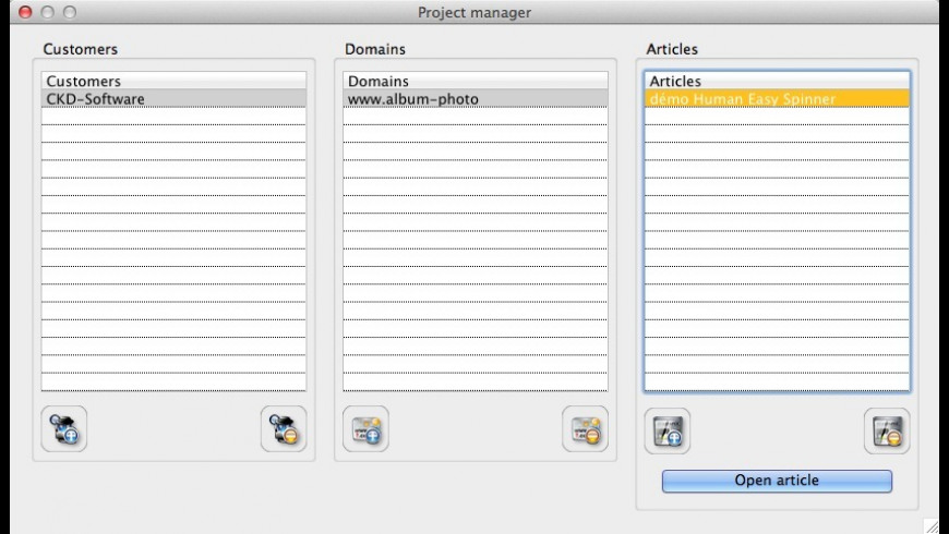 Human Easy Spinner for Mac - review, screenshots