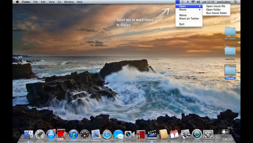 MovieDesktop for Mac - review, screenshots