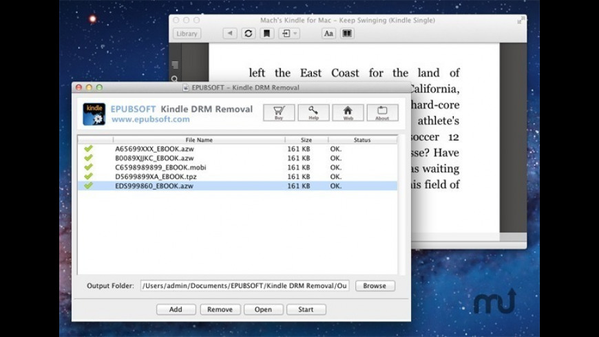 Kindle DRM Removal 12 4 2 Free Download for Mac | MacUpdate