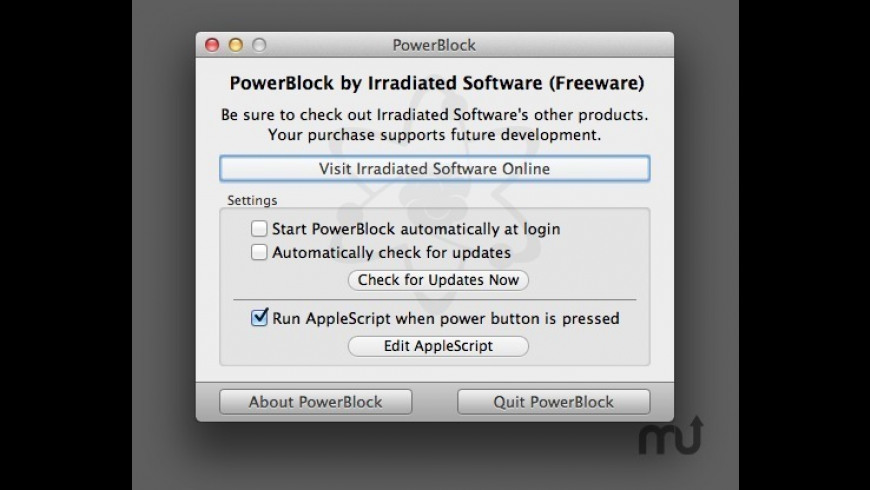 PowerBlock for Mac - review, screenshots