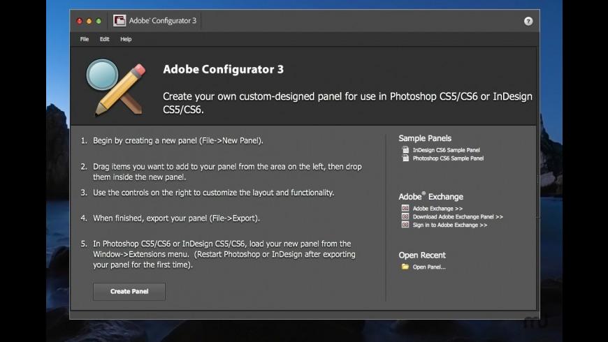 Adobe Configurator for Mac - review, screenshots