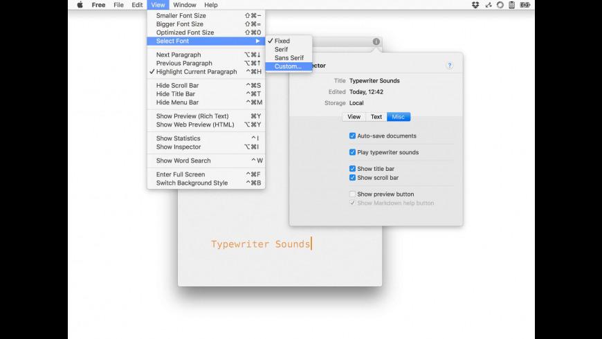 Free for Mac - review, screenshots