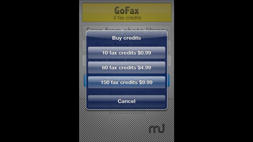 GoFax for Mac - review, screenshots