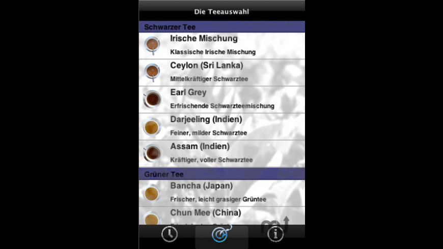 TeeTimer for Mac - review, screenshots
