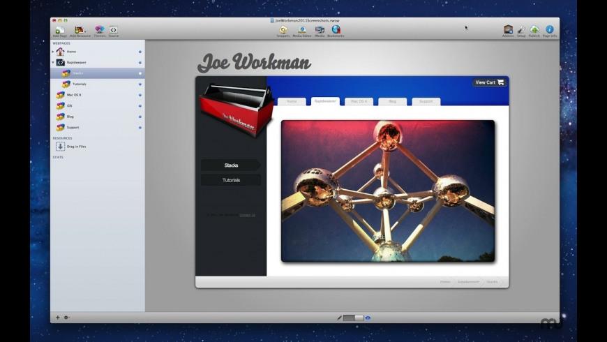 Fluid Image for Mac - review, screenshots