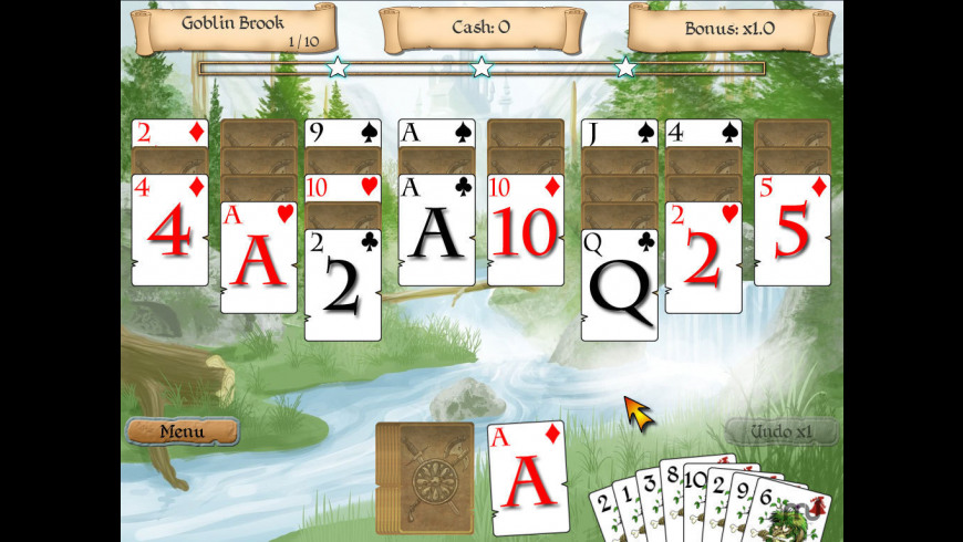 Legends of Solitaire for Mac - review, screenshots