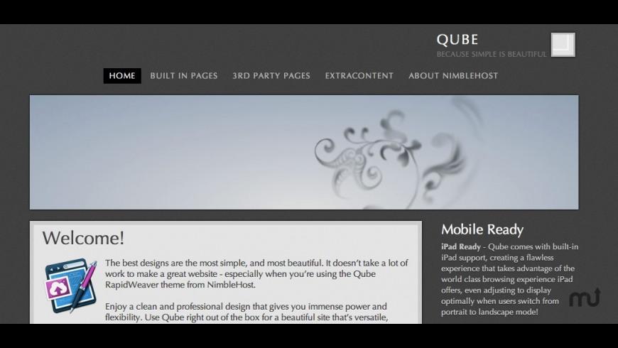 Qube for Mac - review, screenshots