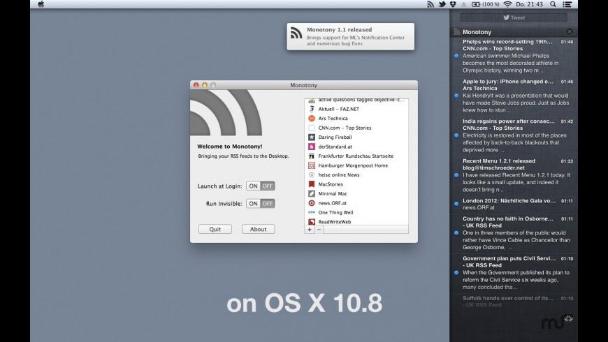 Monotony for Mac - review, screenshots