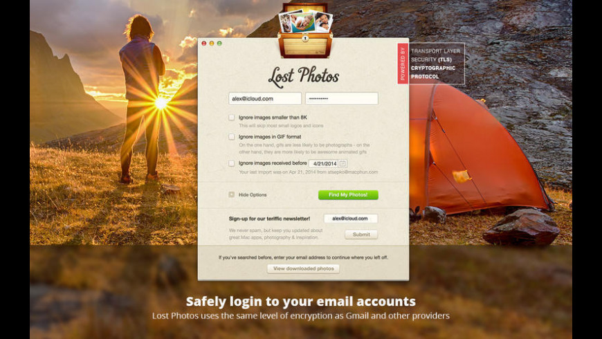 Lost Photos for Mac - review, screenshots