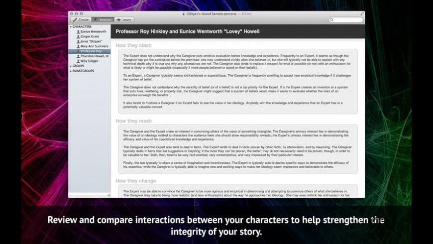 Persona for Mac - review, screenshots