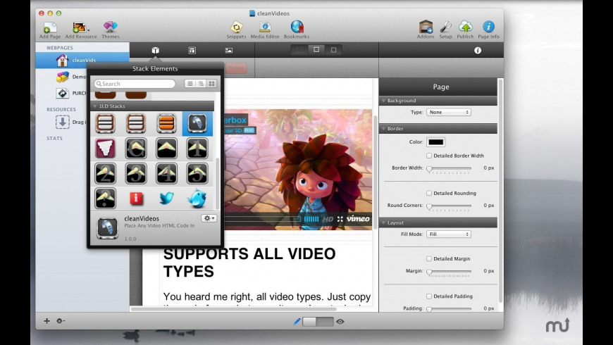 cleanVideos for Mac - review, screenshots