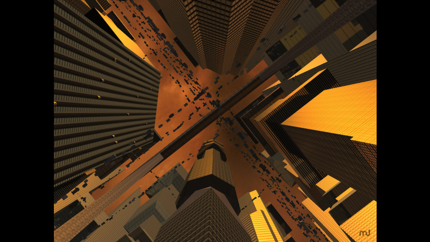 Future City 3D Screensaver for Mac - review, screenshots