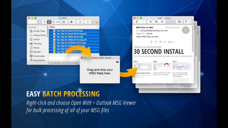 MSG Viewer for Outlook 3 99 Free Download for Mac | MacUpdate