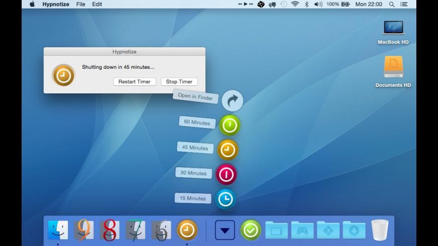 Hypnotize for Mac - review, screenshots