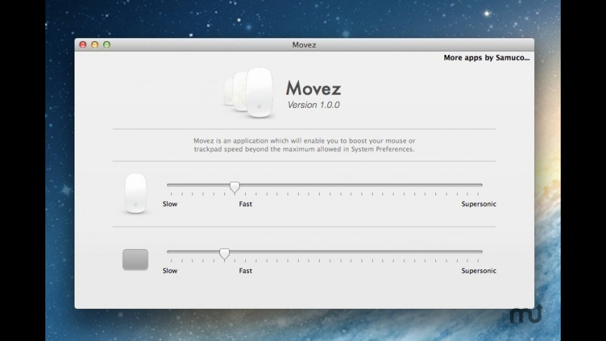 Movez for Mac - review, screenshots