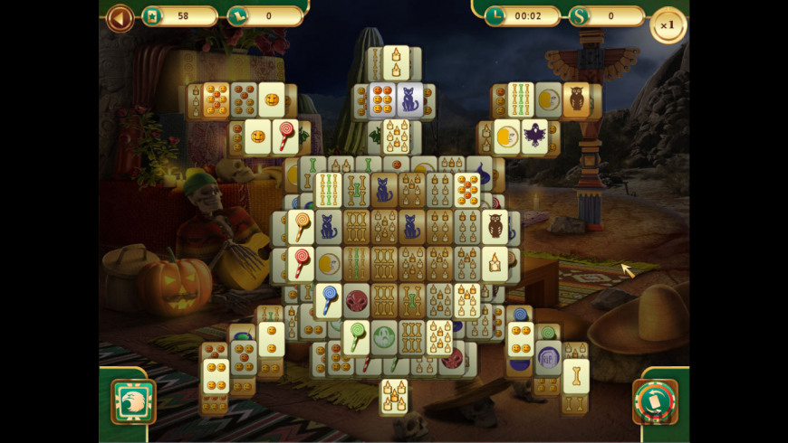 Spooky Mahjong for Mac - review, screenshots