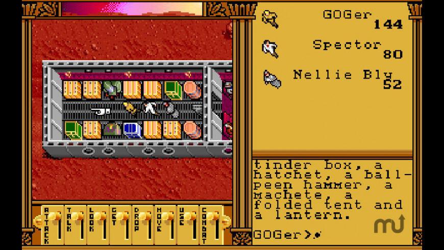 Ultima Worlds of Adventure 2 - Martian Dreams for Mac - review, screenshots