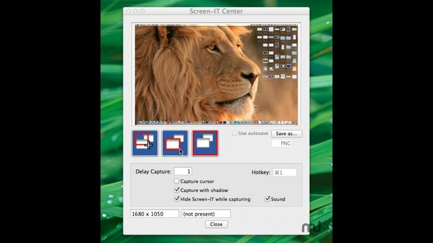 Screenit for Mac - review, screenshots