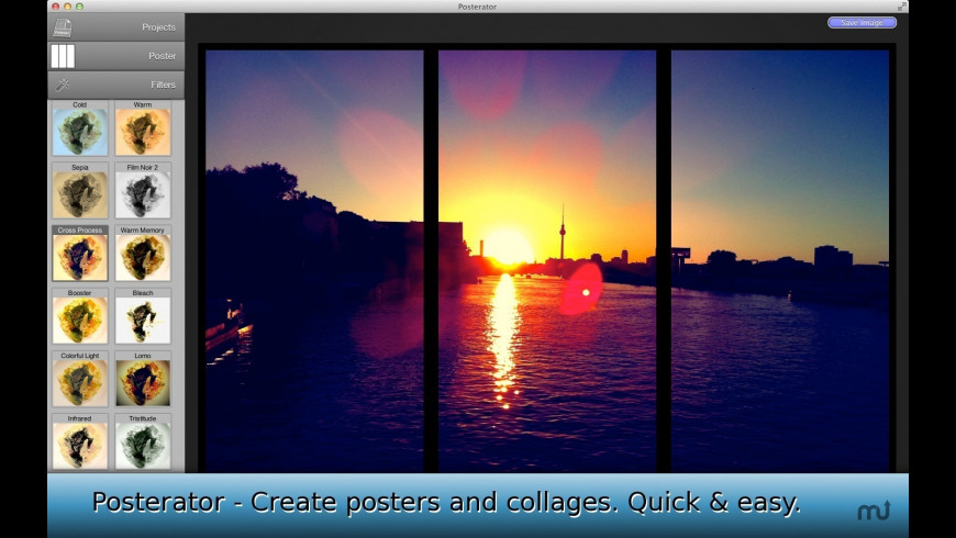 Posterator for Mac - review, screenshots