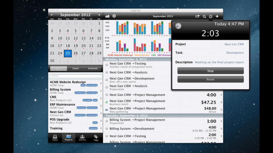 Cube Pro for Mac - review, screenshots