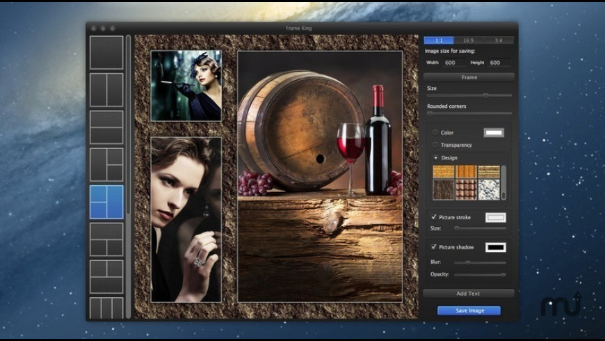 Frame King for Mac - review, screenshots