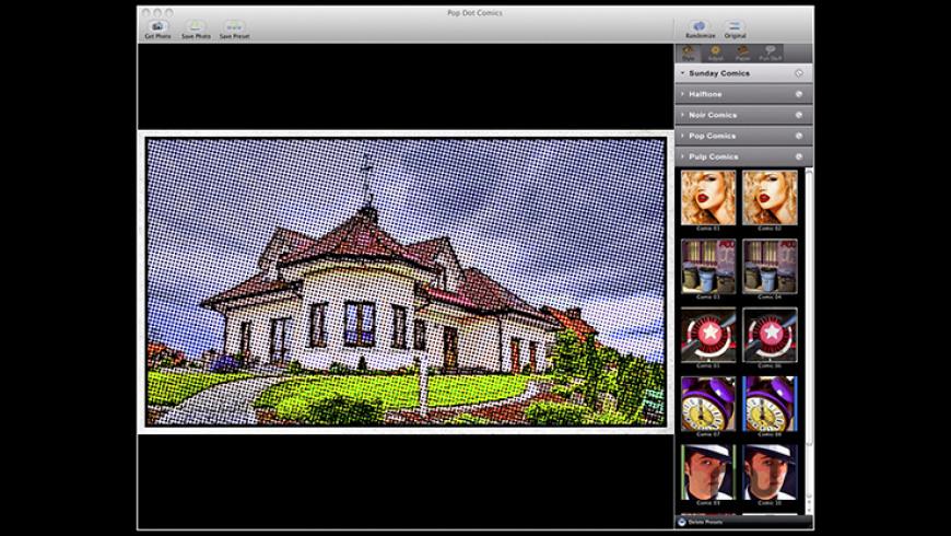 Pop Dot Comics for Mac - review, screenshots