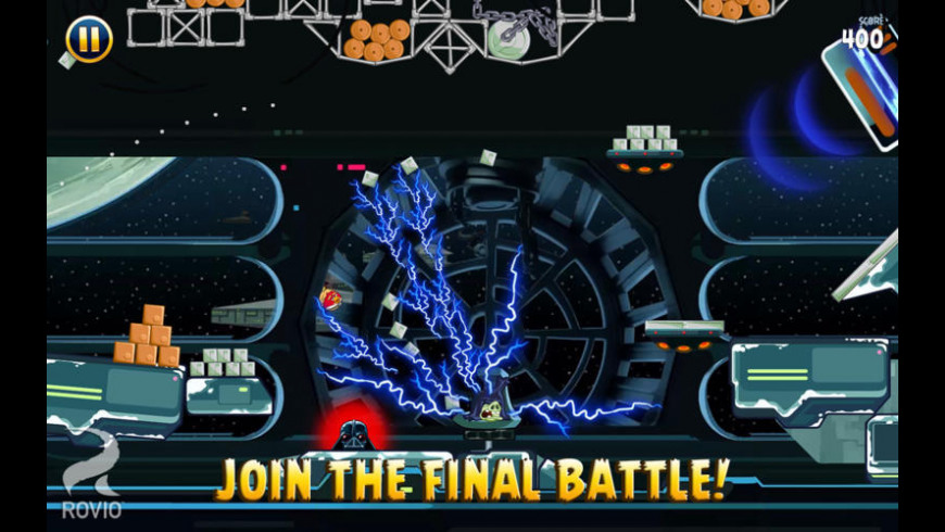 Angry Birds Star Wars for Mac - review, screenshots