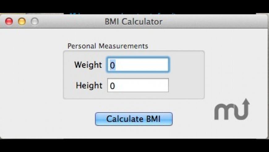 BMI Calculator for Mac - review, screenshots