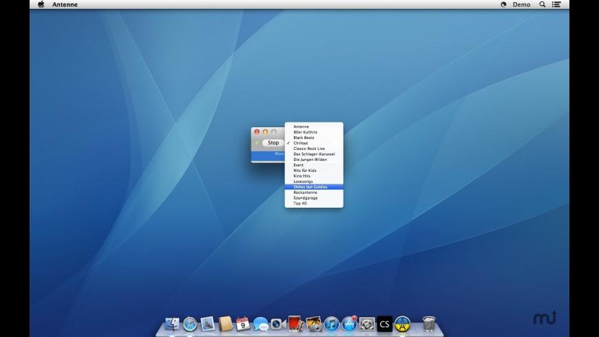 Antenne for Mac - review, screenshots