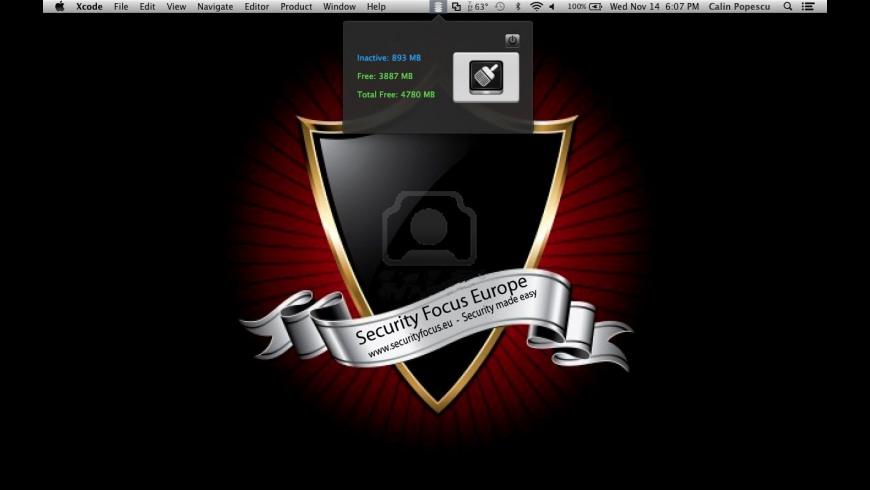 iSmart Memory Clean for Mac - review, screenshots