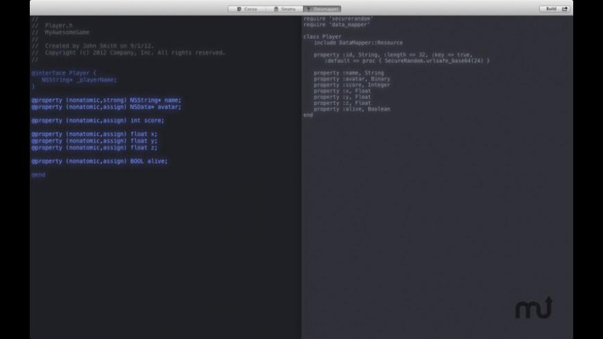 Cloudburst for Mac - review, screenshots