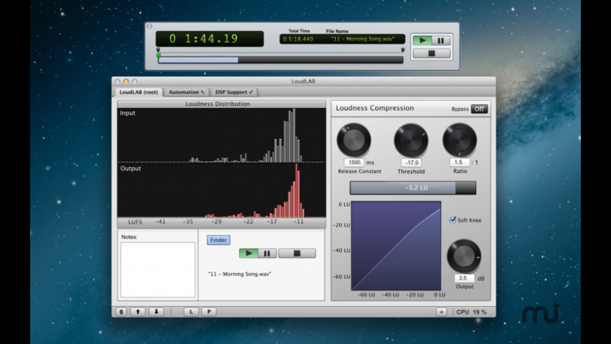 LoudLAB for Mac - review, screenshots