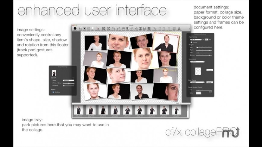 cf/x collagePRO (upgrade) for Mac - review, screenshots
