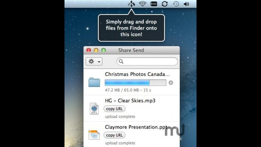 Share Send for Mac - review, screenshots