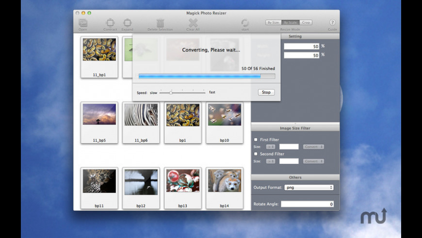 Magick Photo Resizer for Mac - review, screenshots