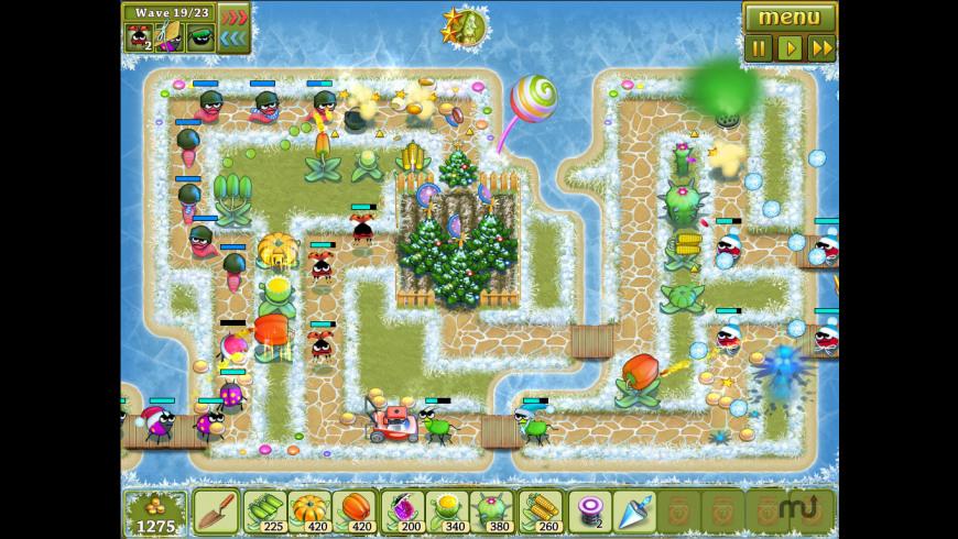 Garden Rescue Christmas Edition for Mac - review, screenshots