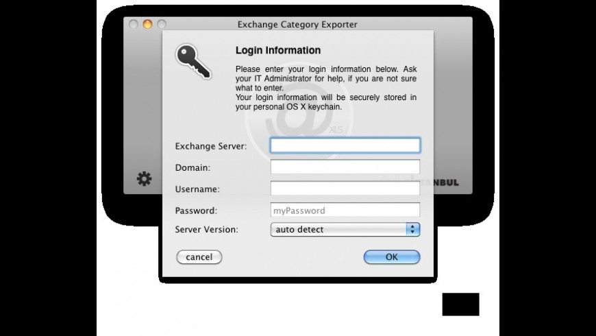 Exchange Category Exporter for Mac - review, screenshots