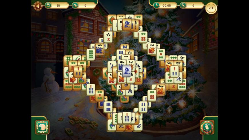 Christmas Mahjong for Mac - review, screenshots
