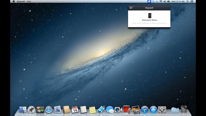 Keycard for Mac - review, screenshots