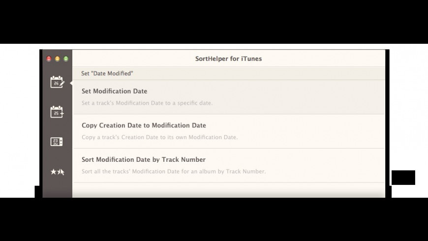 SortHelper for Mac - review, screenshots